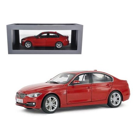 BMW F30 3 Series Melbourne Red 1-18 Diecast Car