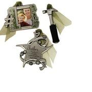 Gloria Duchin 3pc Father Ornament Set