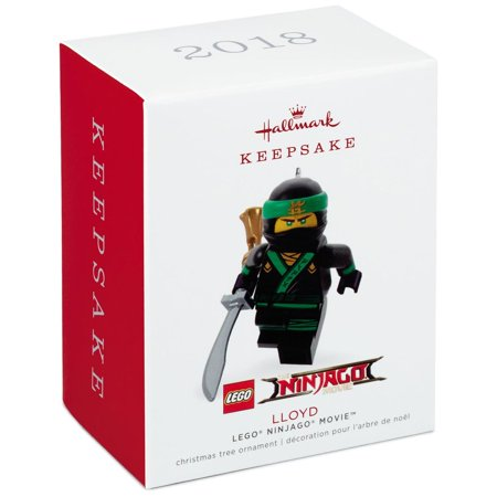 Hallmark Keepsake 2018 THE LEGO® NINJAGO® MOVIE™ Lloyd Ornament 2 Hallmark Keepsake Ornament