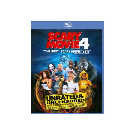 Scary Movie 4 (Blu-ray) - Best Scary Halloween Movies 2017
