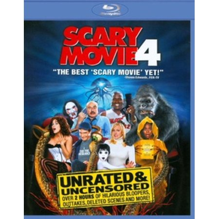 Scary Movie 4 (Blu-ray)](Scary Movies To Rent For Halloween)