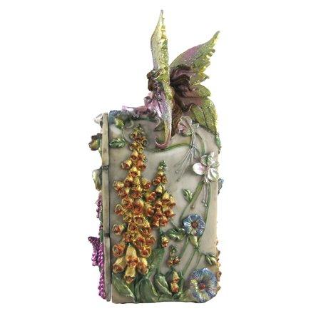 3 Drawer Dream Flower Fairy Trinket / Jewelry Box - image 3 of 4