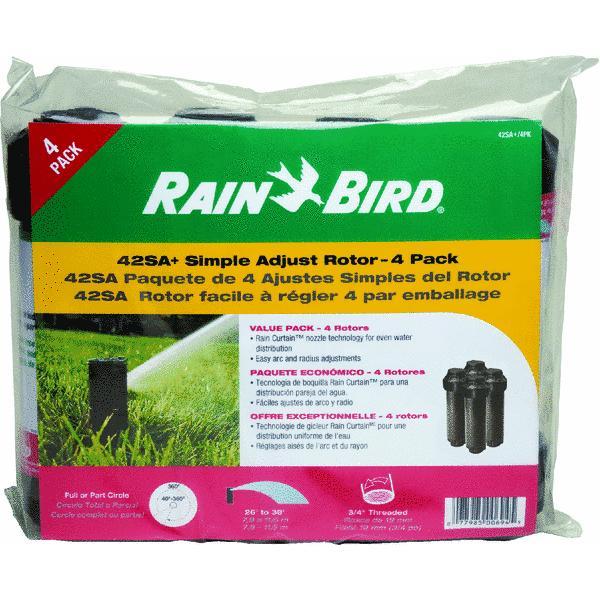 Rain Bird 42SA  Rotor Sprinkler, 4 Pack