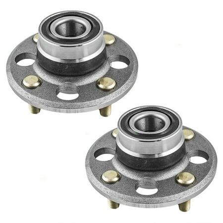 - Pair of Rear Wheel Hub Bearings Replacement for Honda Civic & del Sol CR-X 42200-S04-008