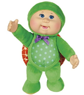 "Cabbage Patch Kids 9"" Perry Turtle Cutie Doll by Cabbage Patch Kids"