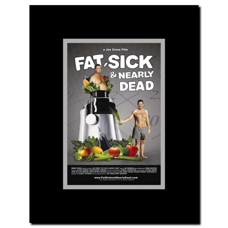 Fat Sick & Nearly Dead Framed Movie Poster
