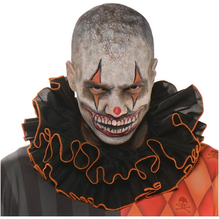 Clown Collar Adult Halloween Accessory](Halloween Clown Outfit)