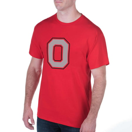 Men's Scarlet Ohio State Buckeyes Primary Logo T-Shirt - Ohio State Parks Halloween