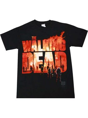 a46f79a8 Product Image The Walking Dead Two Fire Logo Adult T-Shirt