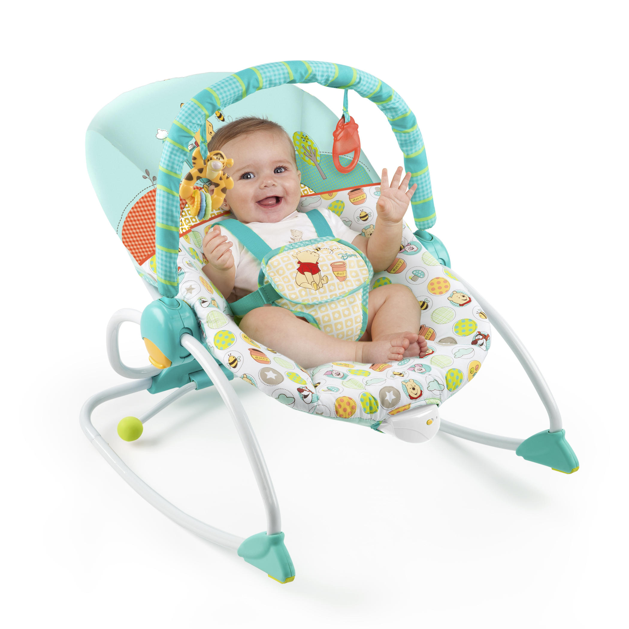 Disney Baby WINNIE THE POOH Baby to Big Kid Rocking Seat Walmart