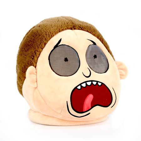 Maskimals Oversized Plush Halloween Mask - Morty - Halloween 4 Mask Buy