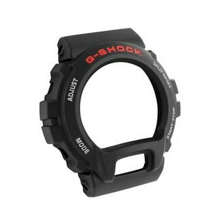 G Shock Watch Original Plastic DW6900 Black Matte Labeled Replacement Bezel Sale