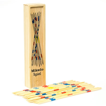 Deluxe Wood Pick Up Sticks (Rules For Pick Up Sticks)