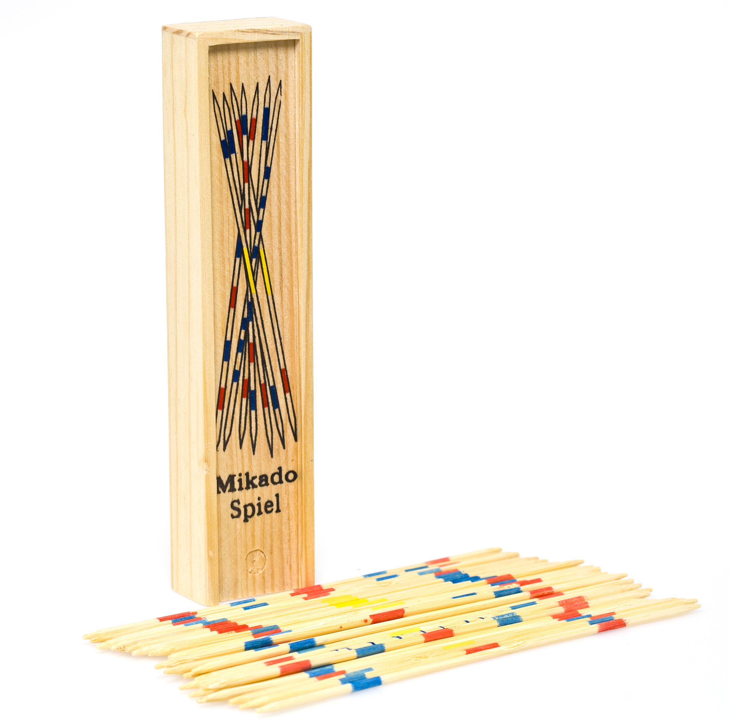 Deluxe Wood Pick Up Sticks