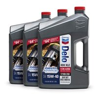 Delo 400 XLE SAE Synblend Synthetic Blend Oil 15W40, 1 Gallon, Case of 3