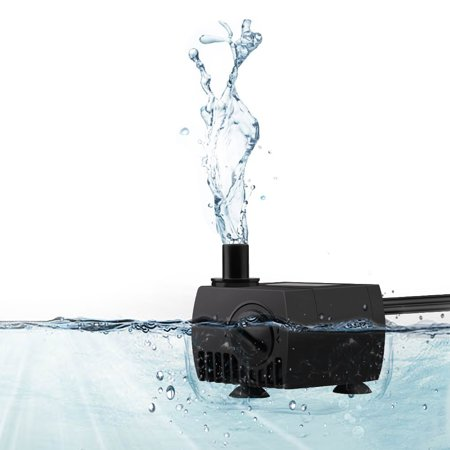 Eheim Aquarium Pumps (VicTsing 80 GPH (300L/H) Submersible Water Pump For Pond, Aquarium, Fish Tank Fountain Water Pump Hydroponics with 4.9ft (1.5m) Power Cord)