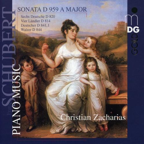F. Schubert - Schubert: Piano Music [CD]