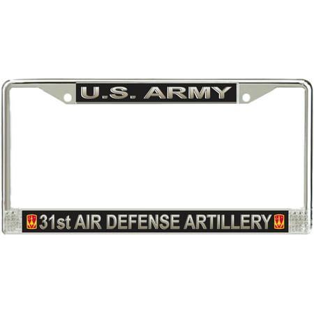 U.S. Army 31st Air Defense Artillery Brigade License Plate Frame