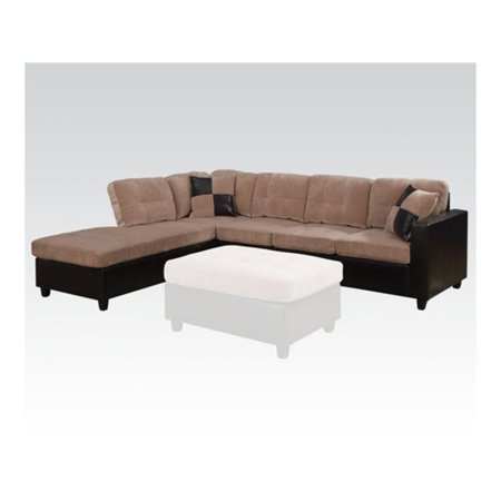 Acme Furniture 51230 Living Room Reversible Sectional Sofa