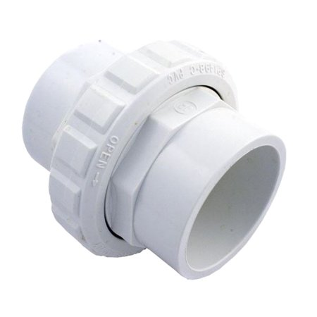 Hayward 2-Inch Swimming Pool White PVC Flush Female Socket Union | SP14982S ()