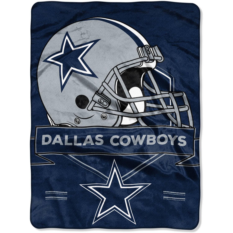 """NFL Dallas Cowboys """"Prestige"""" 60"""" x 80"""" Raschel Throw by The Northwest Company"""