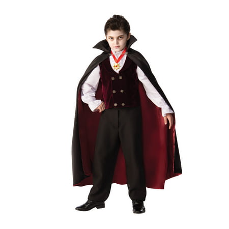 Child Gothic Vampire Halloween Costume - Vampira Gotica Halloween