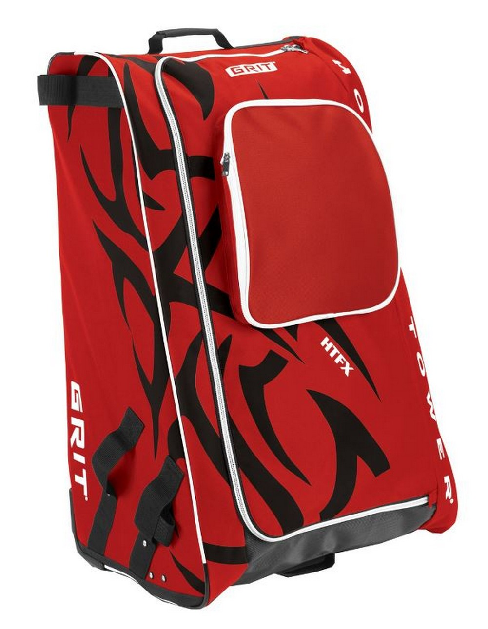 """Grit Inc HTFX Hockey Tower 36"""" Wheeled Equipment Bag Red HTFX036-CH (Chicago) by Grit Inc."""
