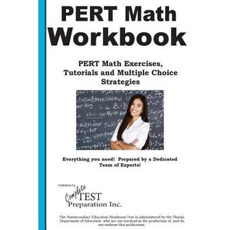 Pert Math Workbook : Math Exercises, Tutorials and Multiple Choice - Trivia Multiple Choice