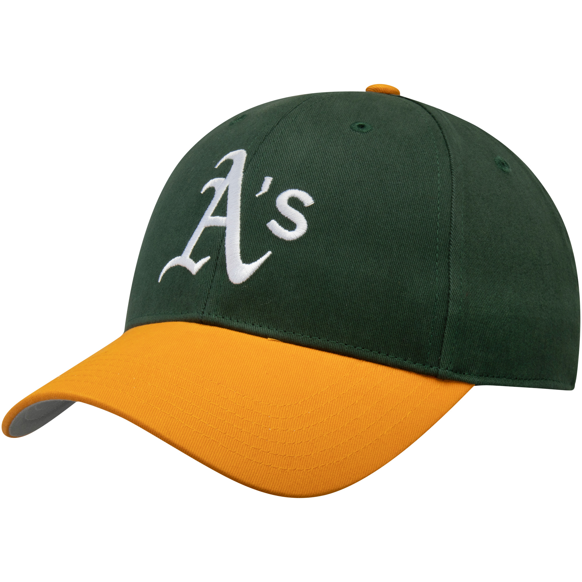 Oakland Athletics Fan Favorite Basic Adjustable Hat - Green - OSFA