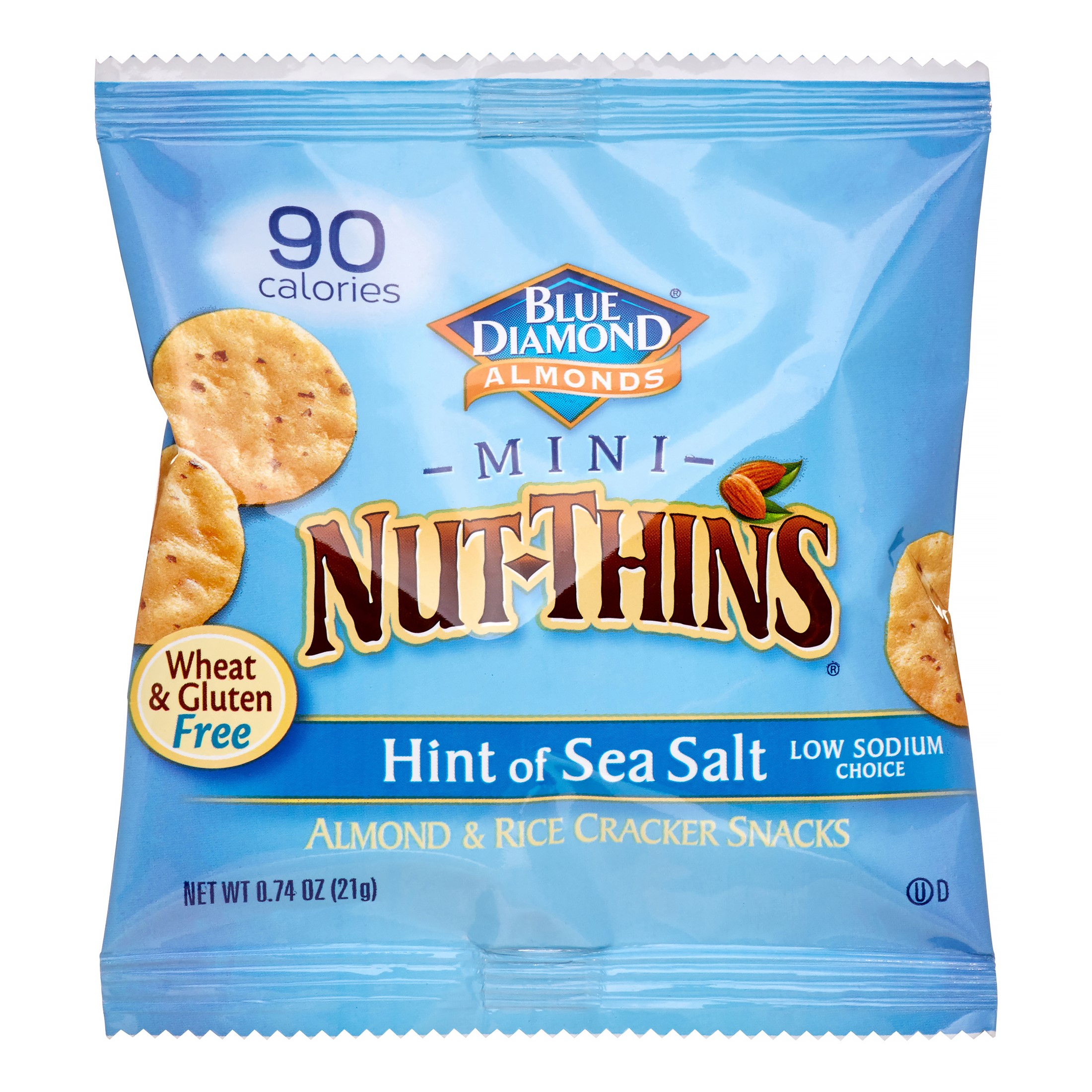 Nut Thins Mini, Hint Of Sea Salt
