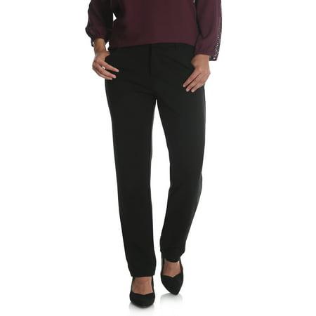 Women's Ponte Knit Comfort Waist Pant ()
