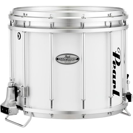 pearl championship maple ffx marching snare drum 14 x 12 in pure white. Black Bedroom Furniture Sets. Home Design Ideas