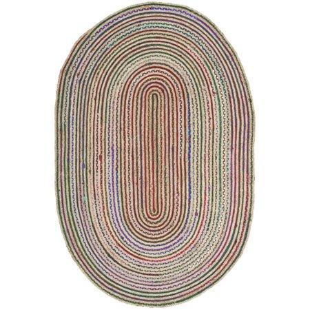 Safavieh Cape Cod 9' X 12' Handmade Jute Rug in Natural - image 3 de 3