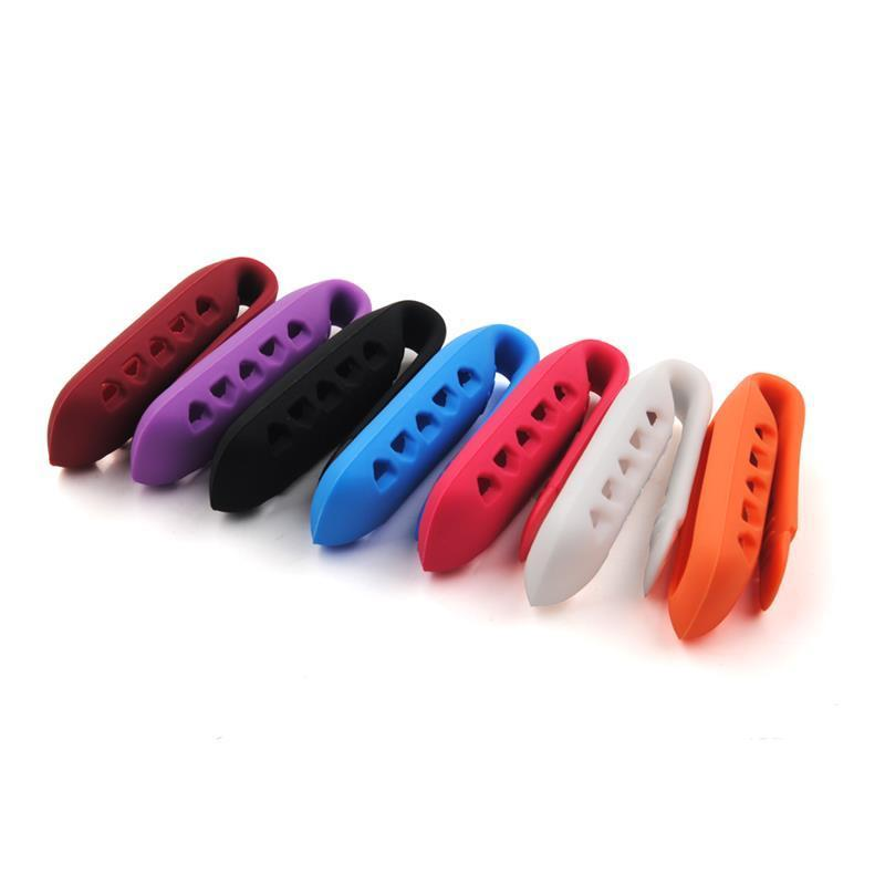 Eastvita Hot Sale New Colors Silicon Clasp Clip Holder Case for FITBIT ONE Wireless Activity Tracker Best Price Gift Orange