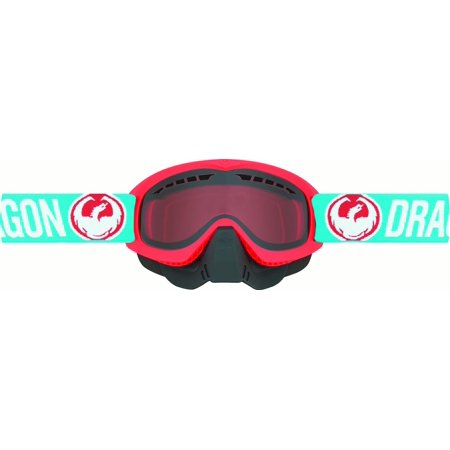 Dragon Flashing Antenna - Dragon MDX Flash Snow Goggles Blue/Orange Lens