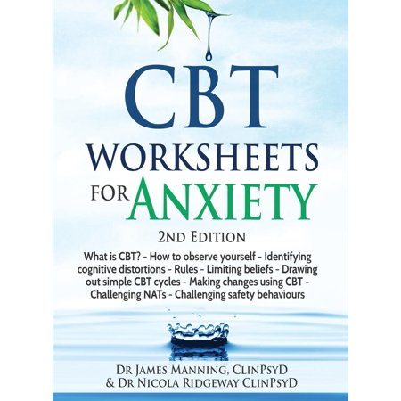 CBT Worksheets for Anxiety - 3rd Edition : A Simple CBT Workbook to Record Your Progress When You Use CBT for Anxiety (Halloween Worksheets For Primary)