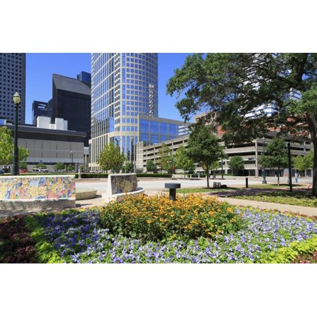 Market Square Park, Houston, Texas, United States of America, North America Print Wall Art By Richard