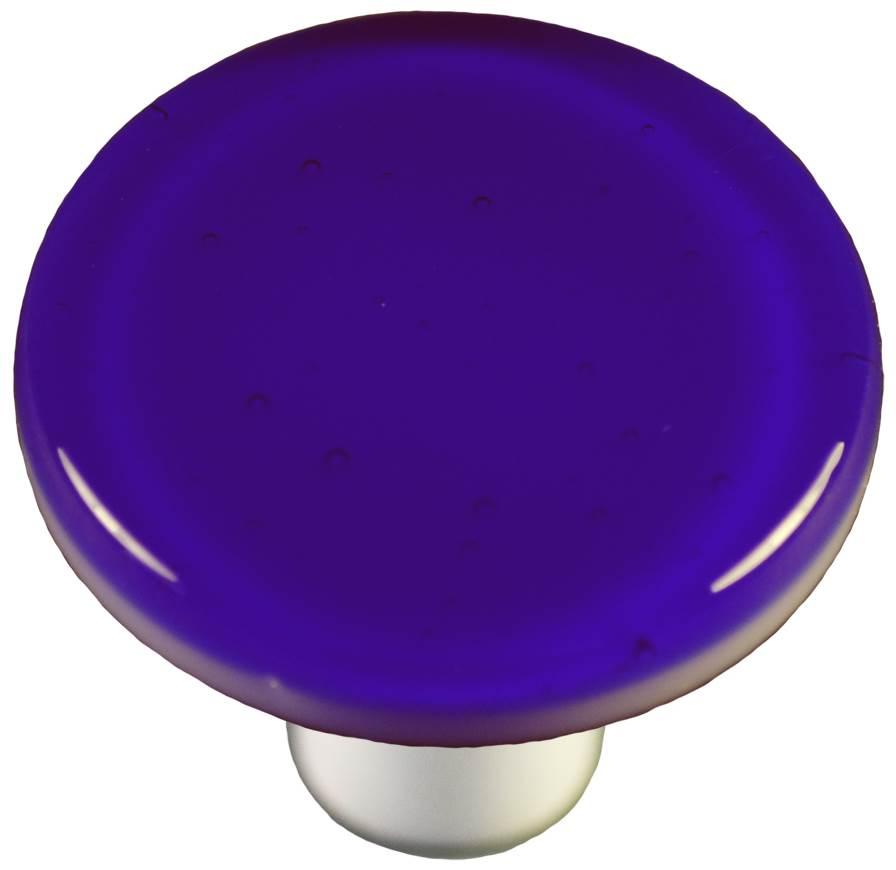 Round Knob in Deep Royal Blue (Aluminum)