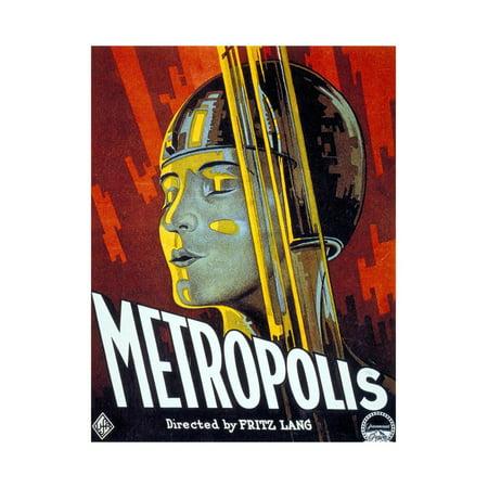 Metropolis, 1927, Directed by Fritz Lang Print Wall Art