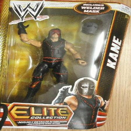 WWE Elite Series 19 Kane Action Figure (Wwe Mask Kane)