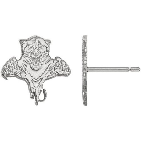 bb0612f22ad LogoArt NHL Florida Panthers Sterling Silver Small Post Earrings -  Walmart.com