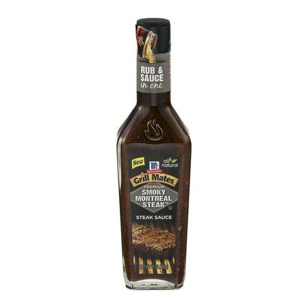 Mccormick grill mates smoky montreal steak sauce 10 0 oz - Steak d espadon grille sauce combava ...