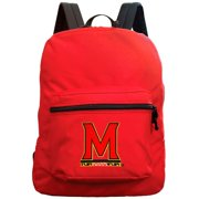 Maryland Terrapins 16''  Premium Backpack - Red