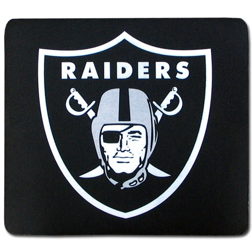 Oakland Raiders Official NFL Mouse Pad by Siskiyou 252075