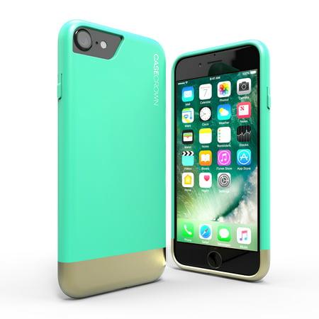 iPhone 7 Case, CaseCrown Lux Glider Case w/ Matte Finish & Felt Interior