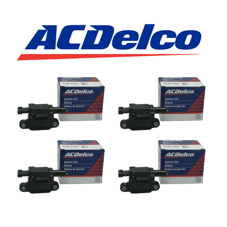 New OEM Ignition Coil Set (4) For For LS2 LS4 LS7 LS9 engines ACDELCO D513A D510C