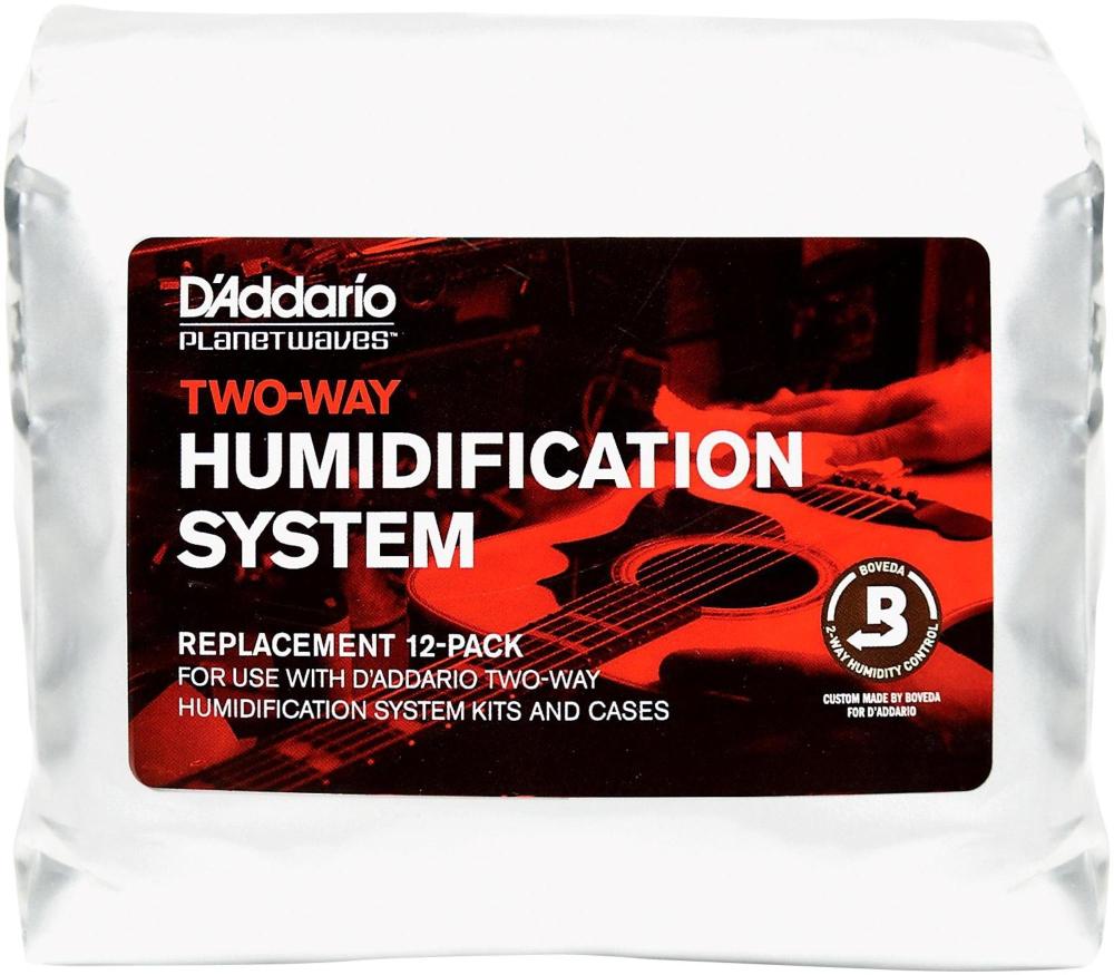 D'Addario Planet Waves Two-Way Humidification Replacement 12-Pack by D'Addario Planet Waves