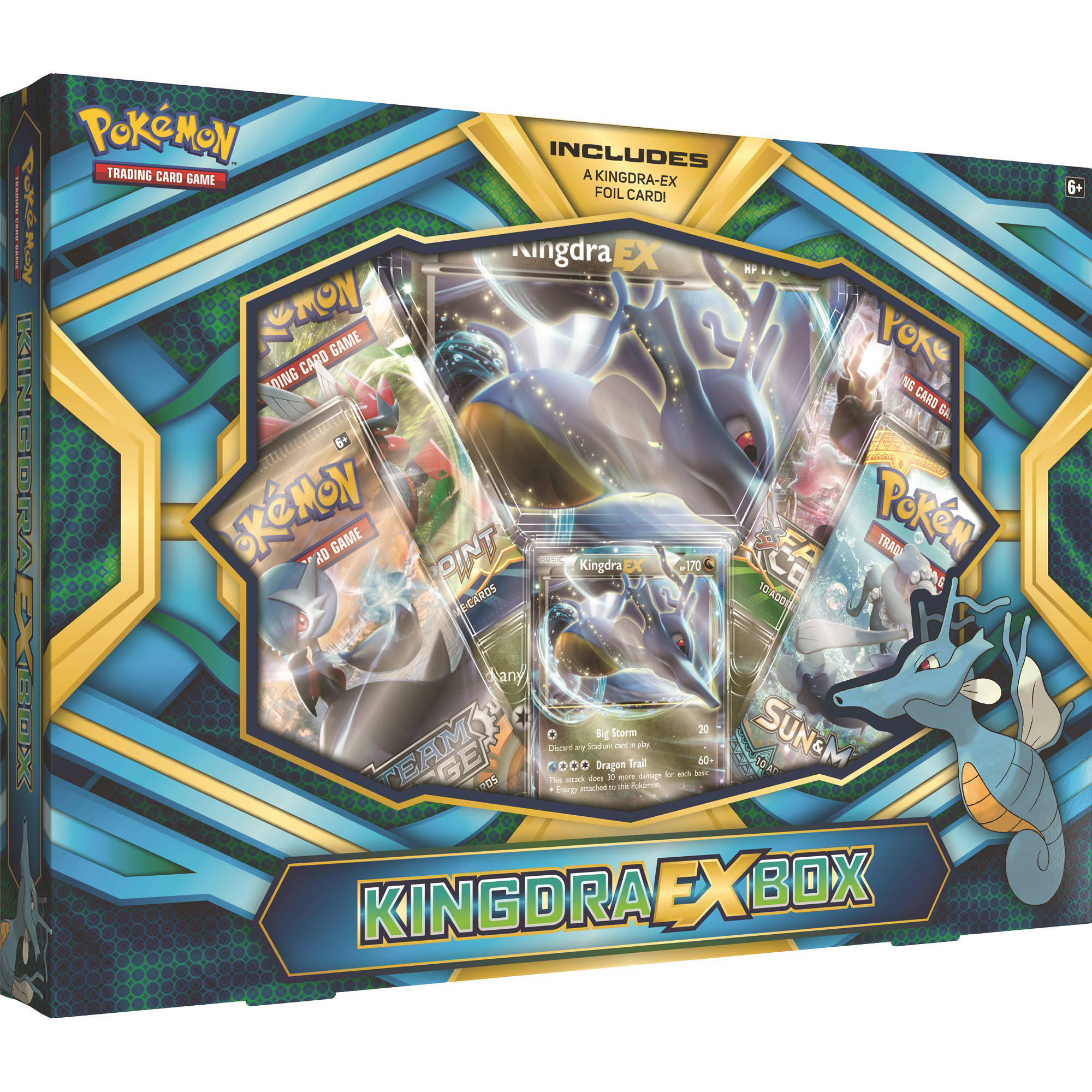 Pokemon Kingdra EX Box by Pokemon