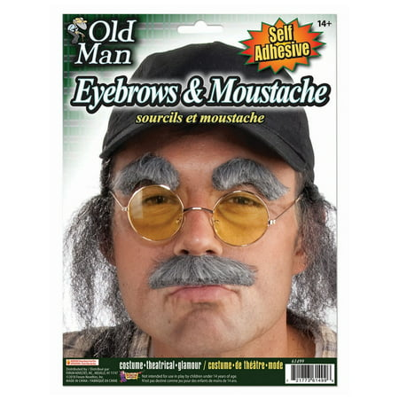 Halloween Old Man Eyebrows And Moustache (Halloween Projects 2 Year Olds)