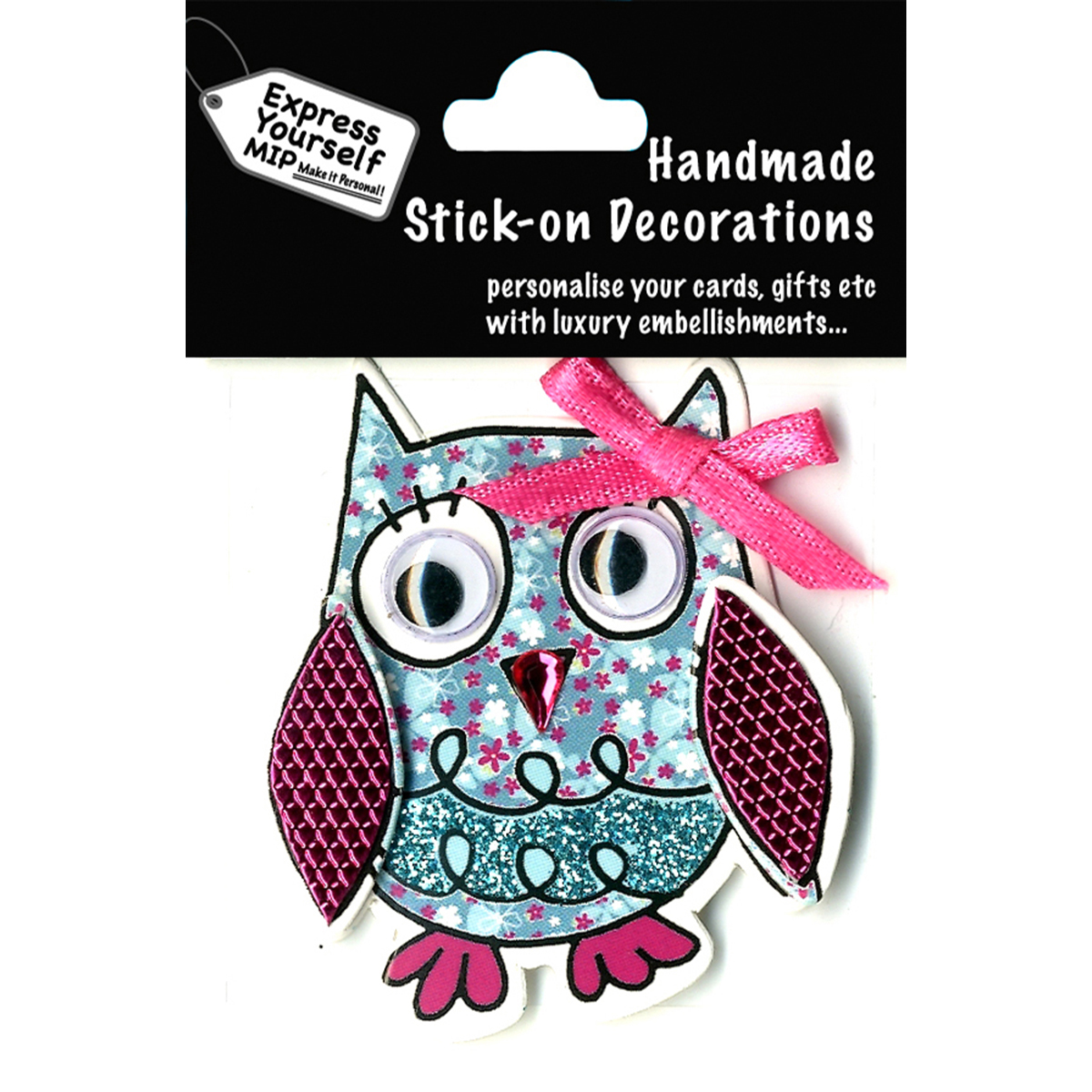 Express Yourself MIP 3D Stickers-Owl